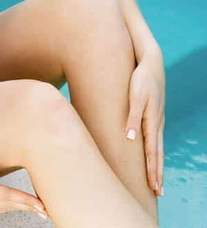 Cómo deshacerse de la piel seca en las piernas