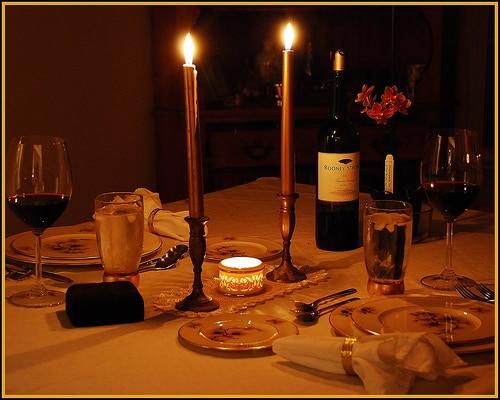 Consejos para lograr una cena rom ntica de ensue o parte for Ideas noche romantica