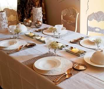 Decora la mesa de navidad for Mesas de navidad