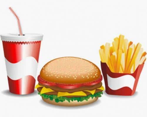 Dieta saludable con la comida rápida